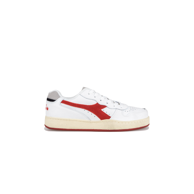 Diadora MI Basket Low Used Tango Red 501.175757 C3653