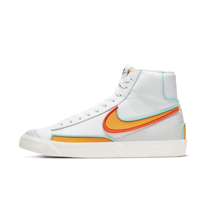Nike Blazer D/MS/X 'White/Kumquat'