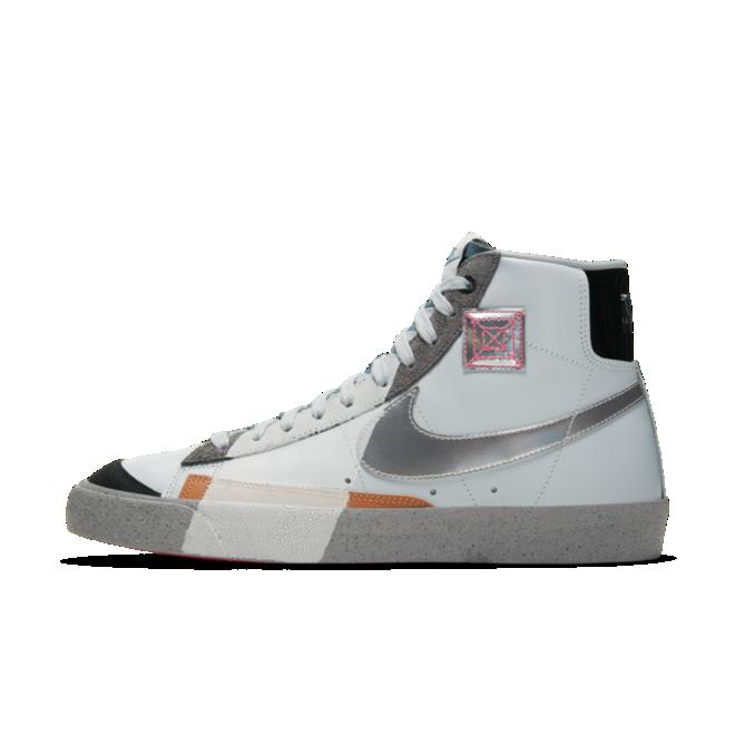 Nike Blazer Mid 'Silver Swoosh'