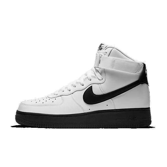Nike Air Force 1 High White Black Midsole