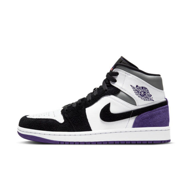 Air Jordan 1 Mid Suede 'Court Purple'