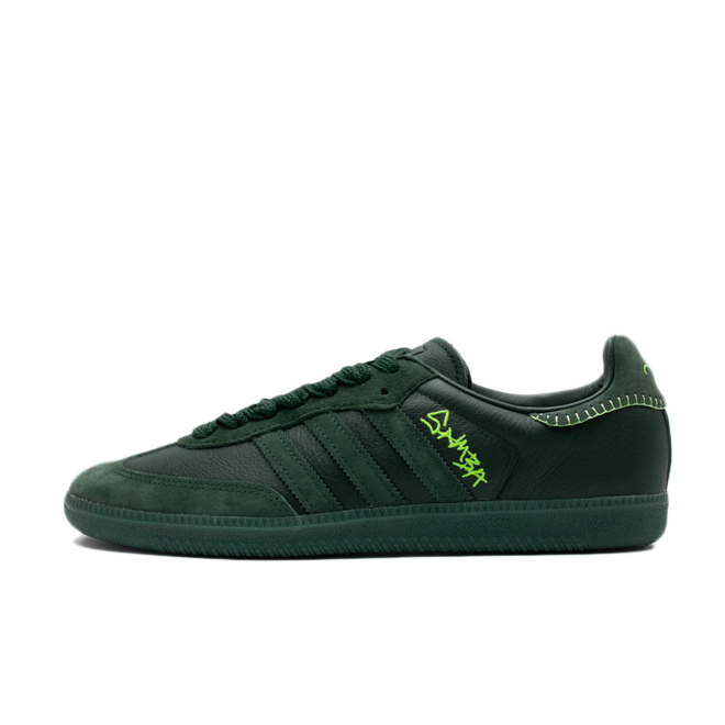 Jonah Hill x adidas Samba 'Green Night'