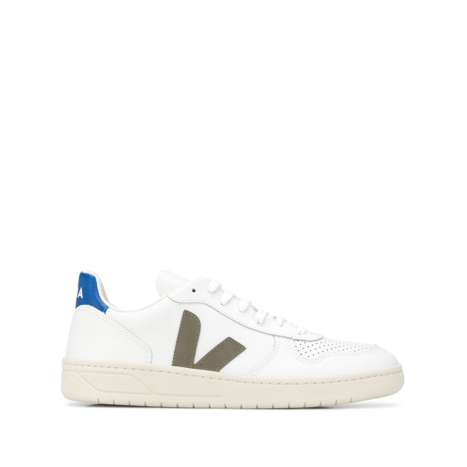 Veja low-top logo trainers