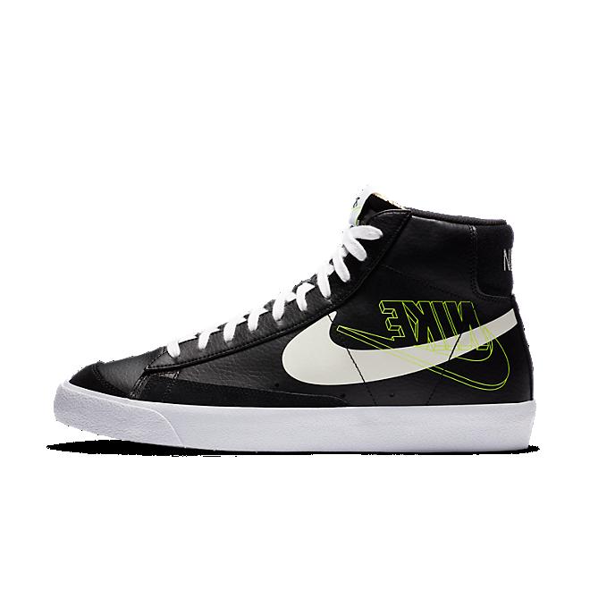 "Nike Blazer Mid '77 ""Black Reverse Logo"""