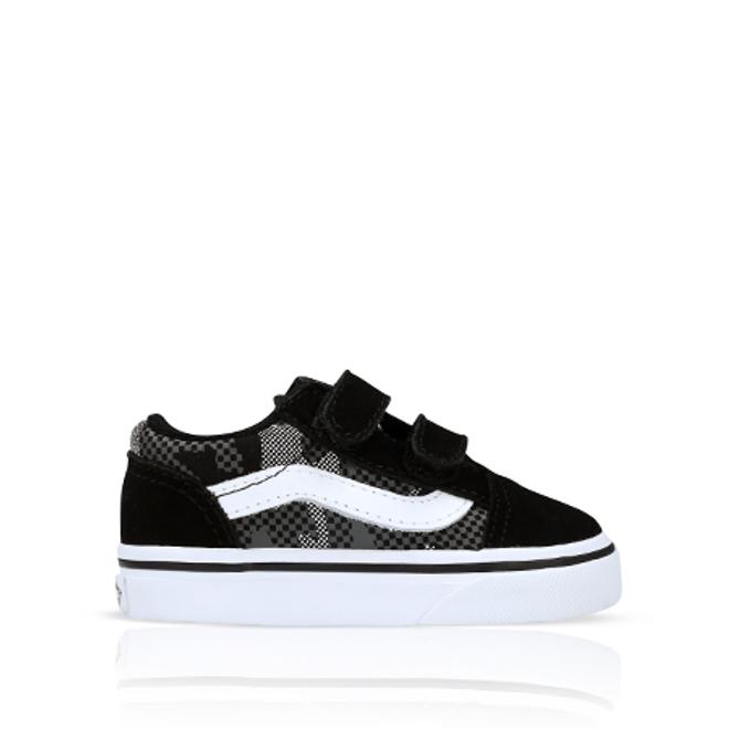 Vans Old Skool Pattern Camo Black/White TD