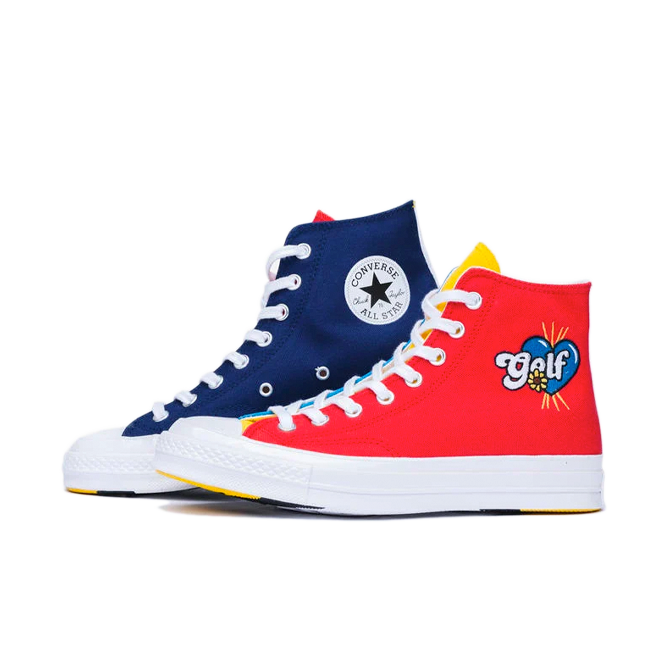 Golf Wang X Converse Chuck 70 Hi 'Tri Panel'
