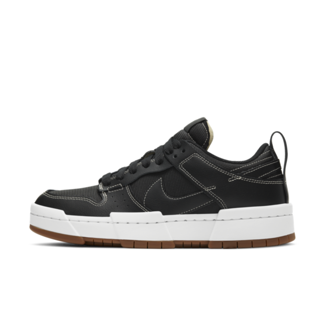 Nike WMNS Dunk Low Disrupt 'Black' zijaanzicht