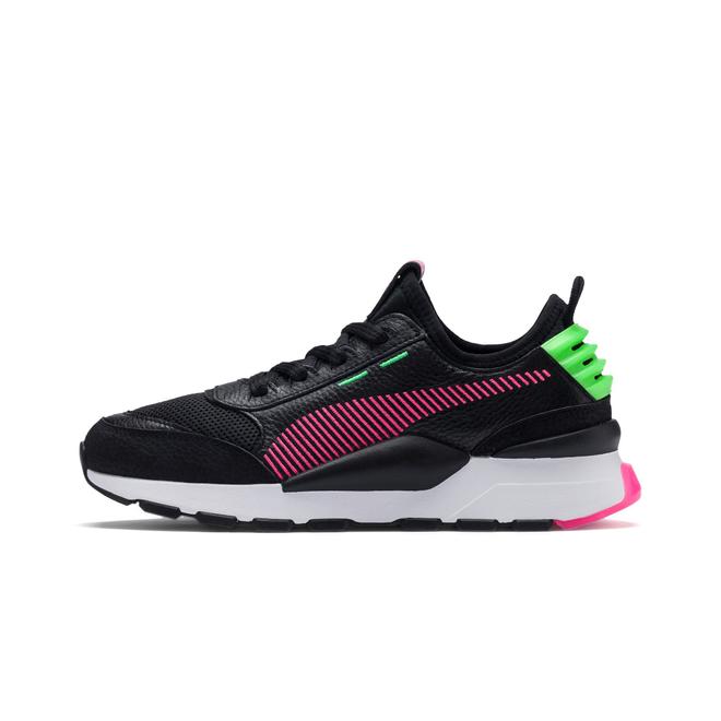 Puma RS-0 Rein Black/Fluor Pink/Fluor Green - 41