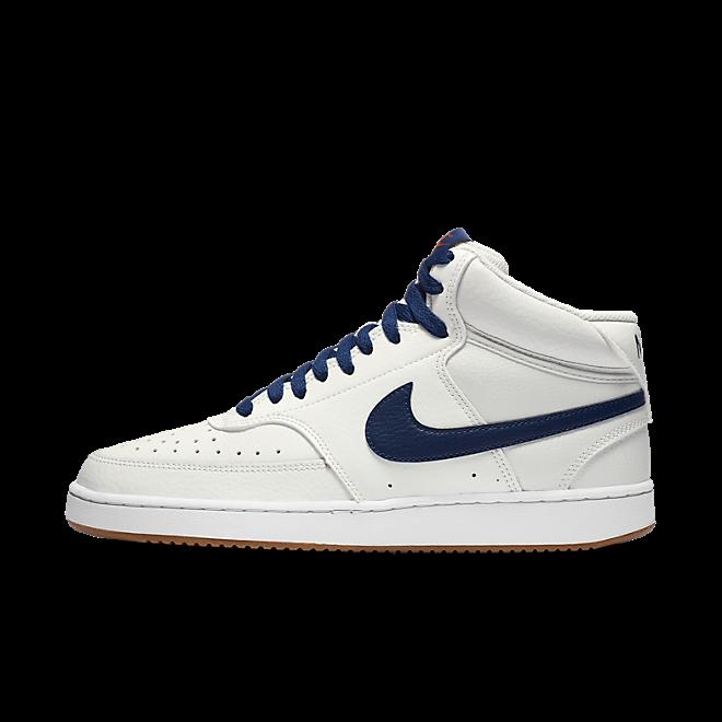 Nike Court Vision Mid Summit White