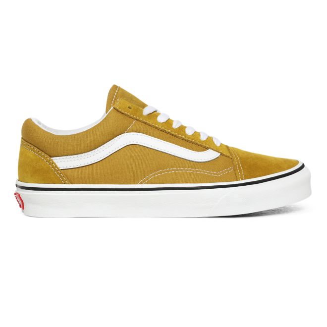 VANS Old Skool Olive Oil True White