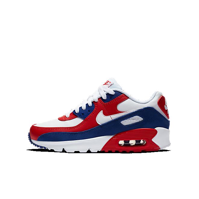 Nike Air Max 90 Deep Royal University Red (GS)