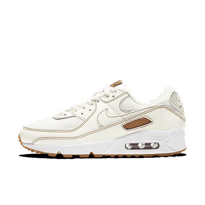 Nike Ar Max 90 'Sail & Gum' zijaanzicht