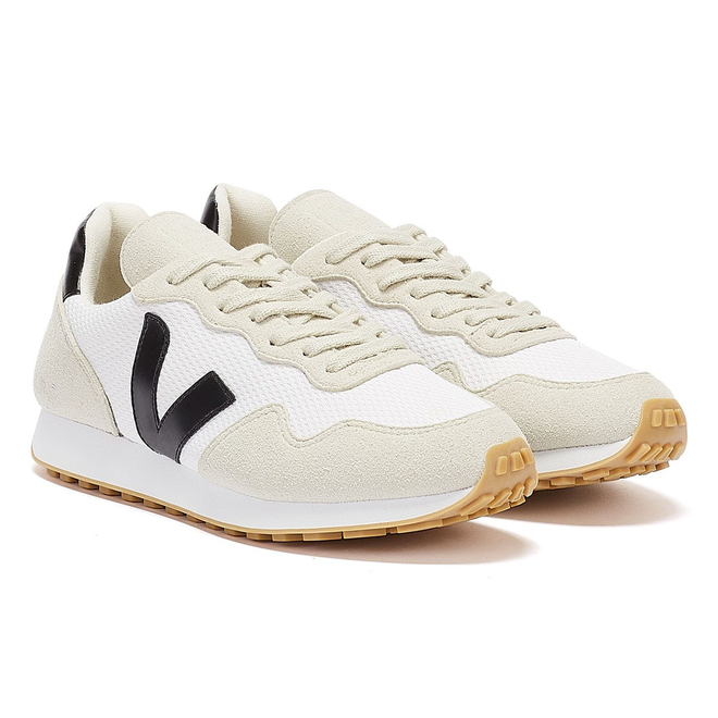 Veja SDU RT Vegan White / Black Trainers