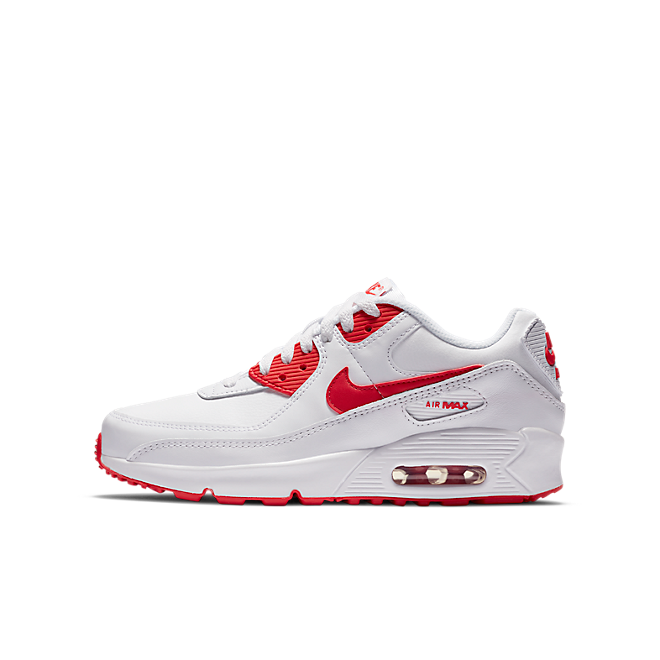 Nike Air Max 90 Recraft White Red (GS)