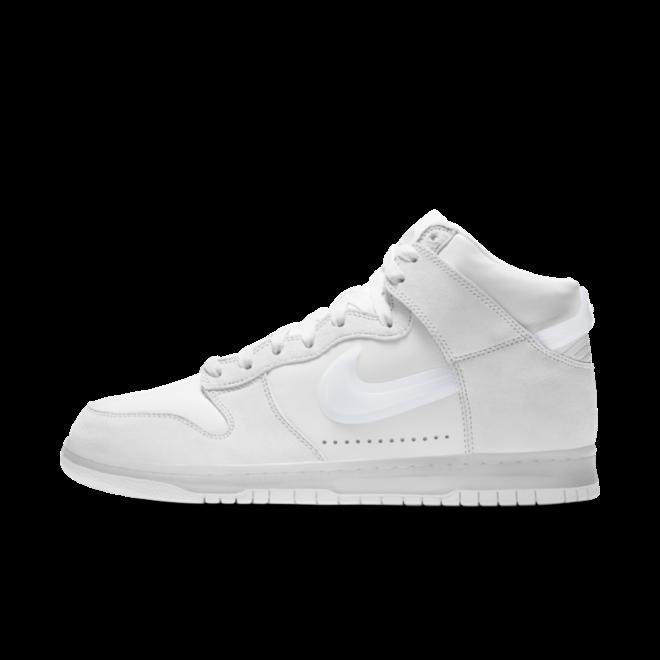 Slam Jam X Nike Dunk High 'Clear White'