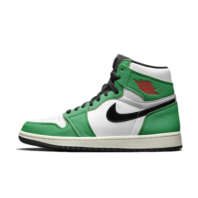 Air Jordan 1 High OG WMNS 'Lucky Green' zijaanzicht
