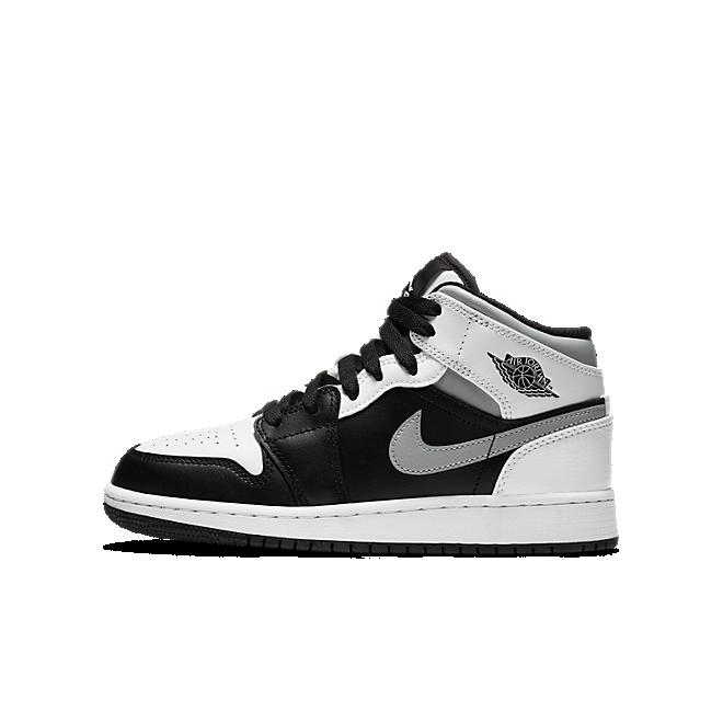 Air Jordan 1 Mid GS 'White Shadow'