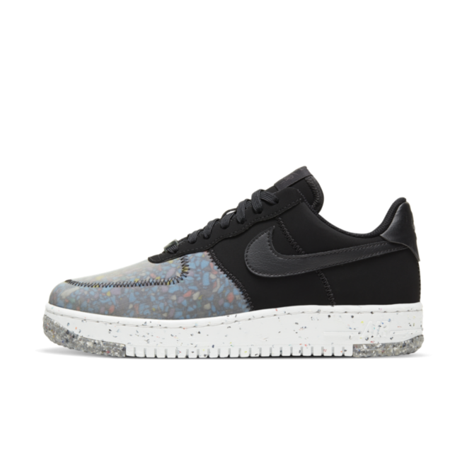 Nike Air Force 1 Crater 'Black' zijaanzicht
