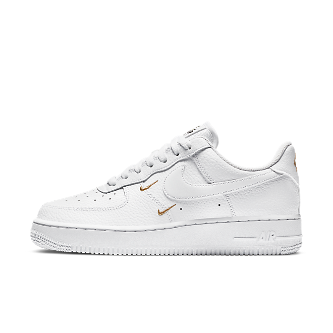 Nike Air Force 1 Swooshes 'White' zijaanzicht