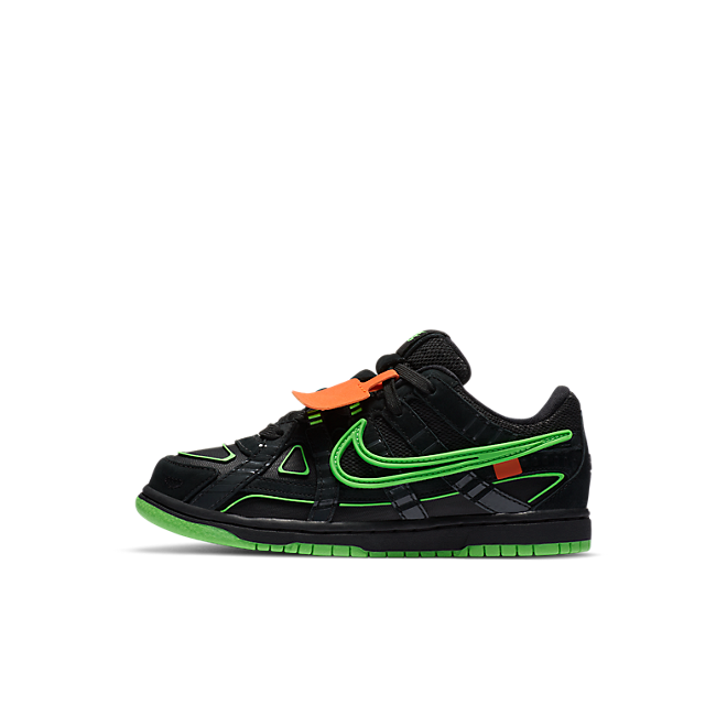 Nike Air Rubber Dunk Off-White Green Strike (PS)