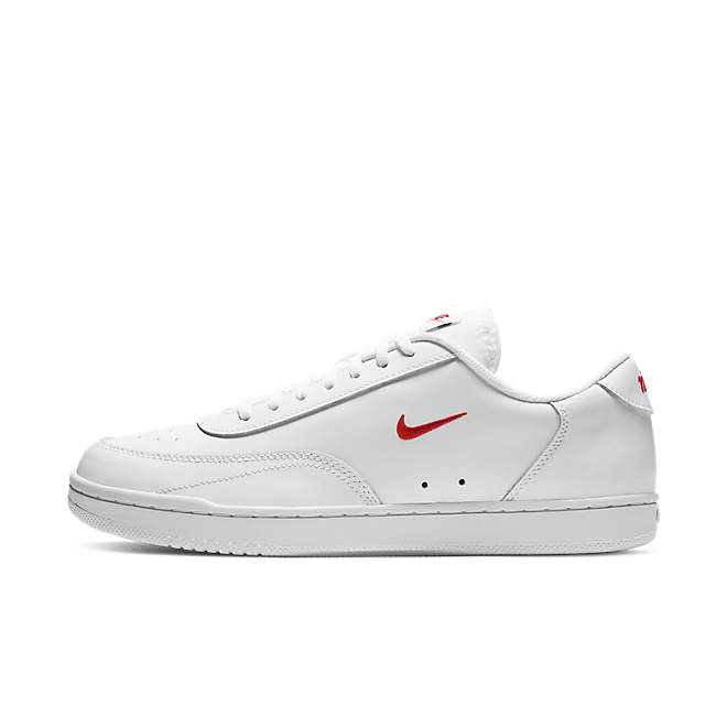 Nike Court Vintage White University Red