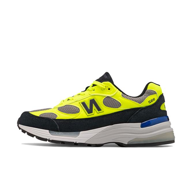 New Balance 992 Neon Yellow Black