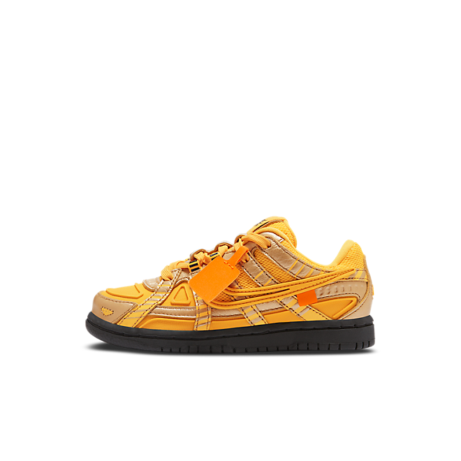 Nike Air Rubber Dunk Off-White University Gold (PS)