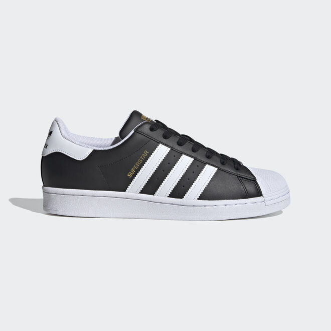 adidas Superstar Core Black/ Ftw White/ Gold Metalic