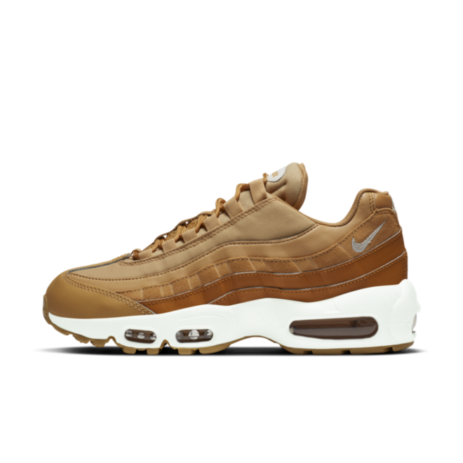 Nike Air Max 95 'Wheat' zijaanzicht