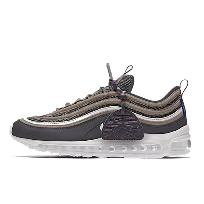 Nike Air Max 97 Pendleton By You Custom zijaanzicht
