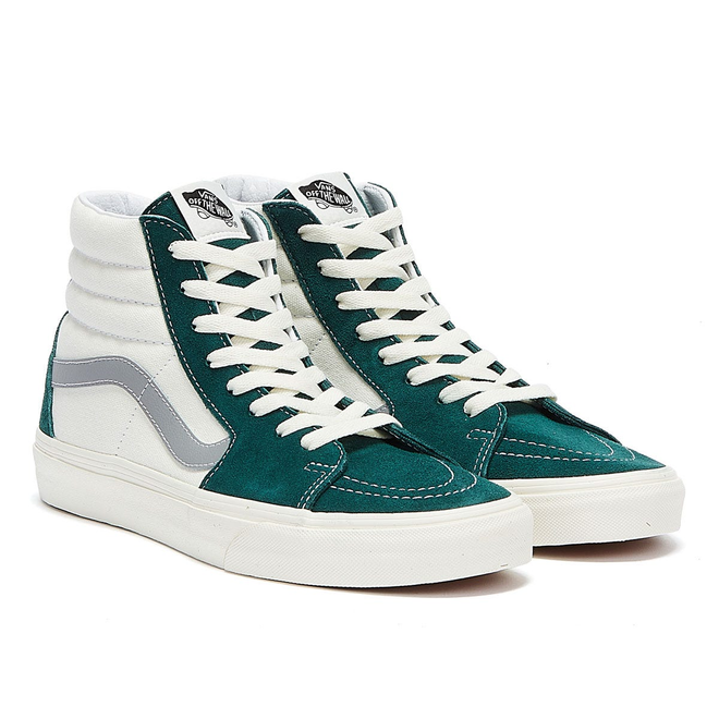 Vans Sk8-Hi Retro Sport Mens Green / White Trainers