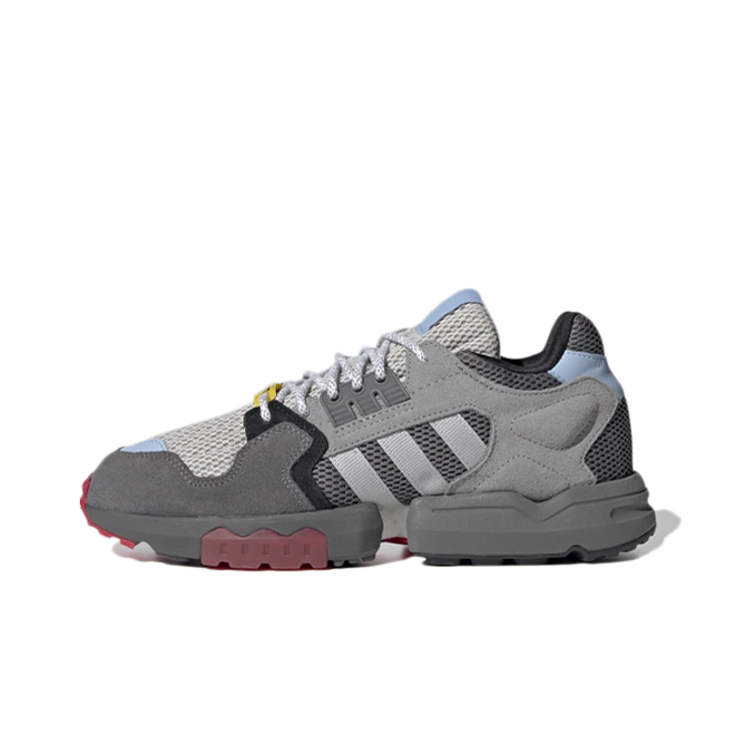 Ninja X adidas ZX Torsion Kids 'Grey' zijaanzicht