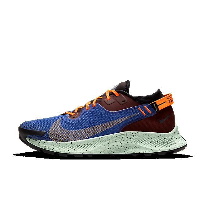 Nike Pegasus Trail 2 Gore-Tex 'Astronomy Blue' zijaanzicht