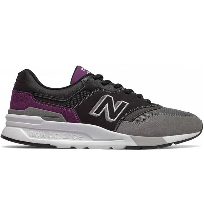 New Balance CM 997H Sneaker Zwart Grijs Paars