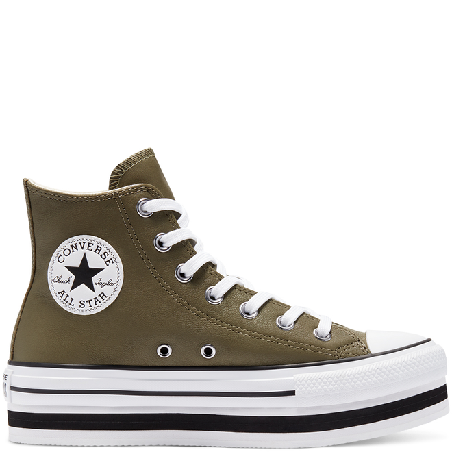 Leather EVA Platform Chuck Taylor All Star High Top