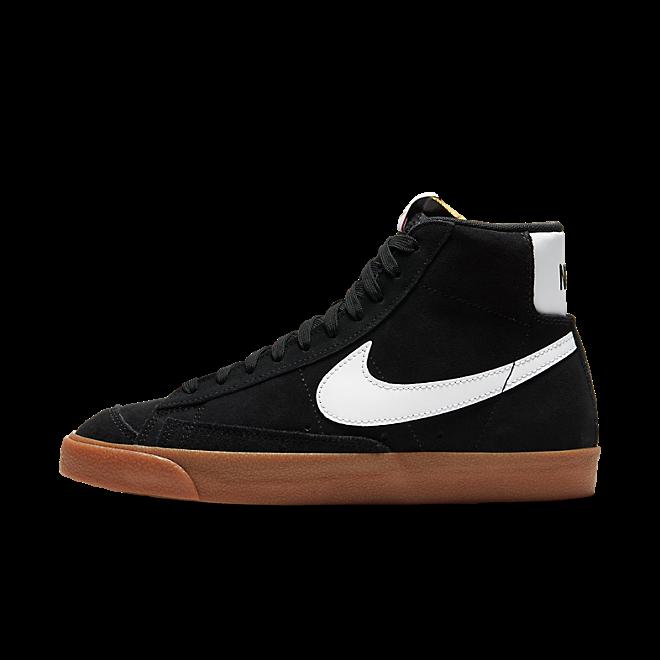 Nike Blazer Mid 77 Black White Gum (W)