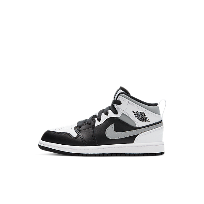 Jordan 1 Mid White Shadow (PS)