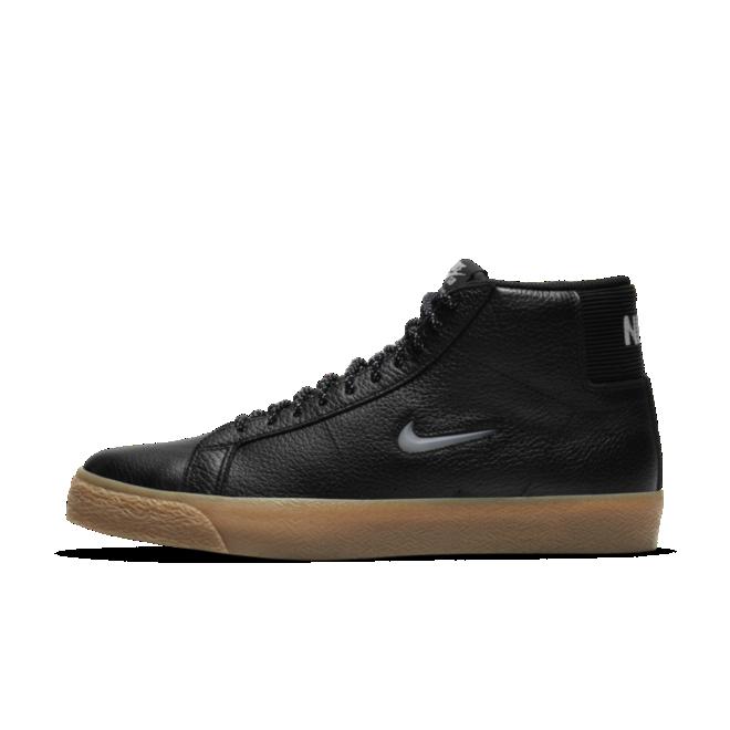 Nike SB Zoom Blazer Mid Jewel Swoosh 'White'