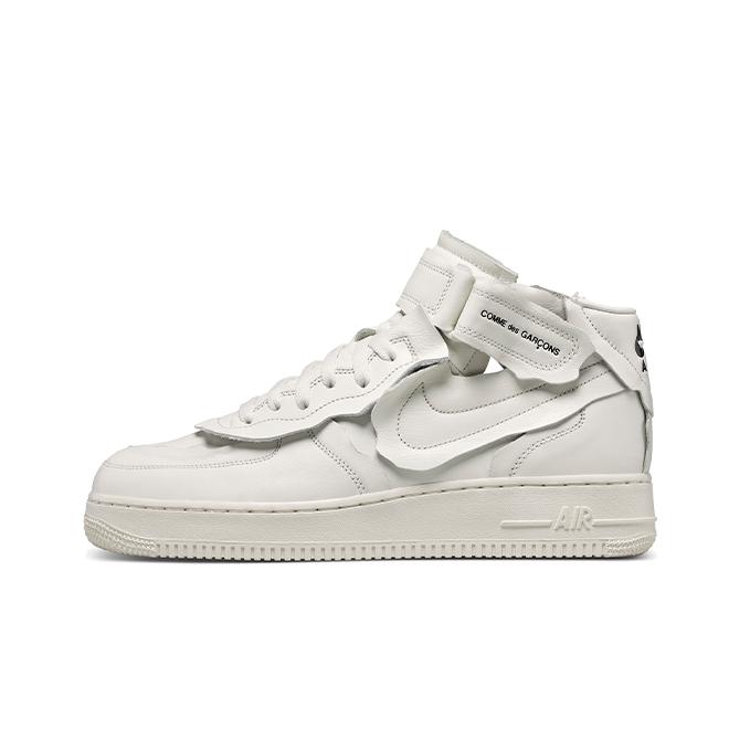 Comme Des Garçons X Nike Air Force 1 Mid 'White'
