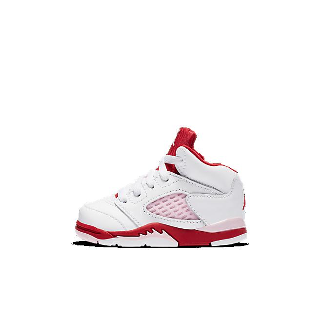 Jordan 5 Retro White Pink Red (TD)