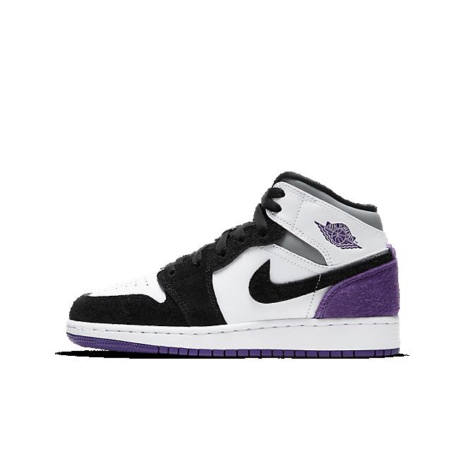 Air Jordan 1 Mid SE Purple (GS) (2020)