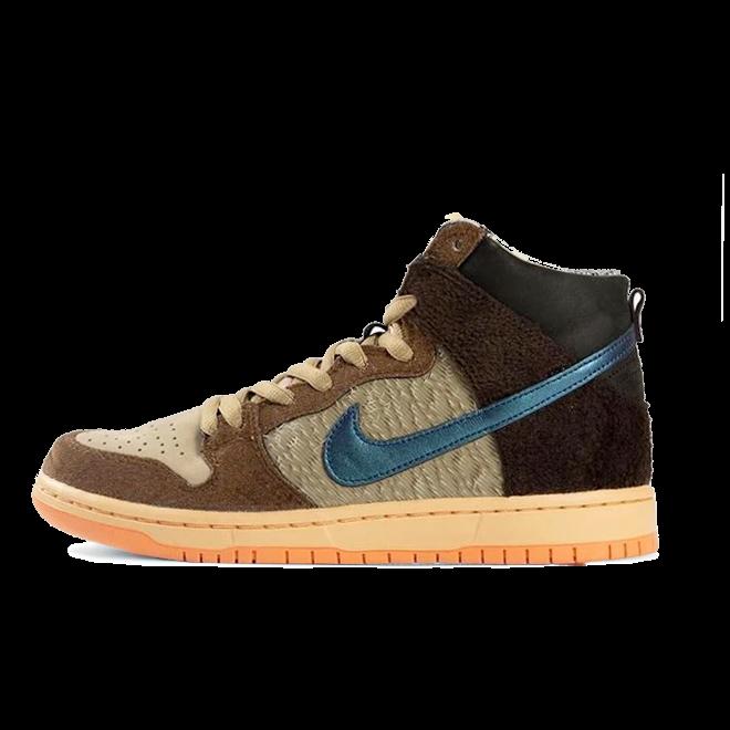 Concepts x Nike SB Dunk High Pro QS zijaanzicht