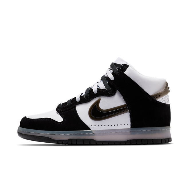 Slam Jam x Nike Dunk High 'White/Black' DA1639-101