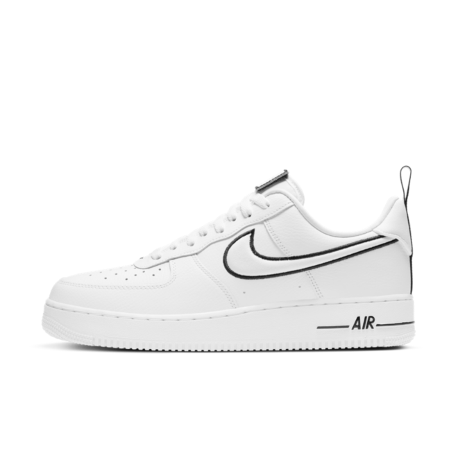 Nike Air Force 1 Patches 'White' zijaanzicht