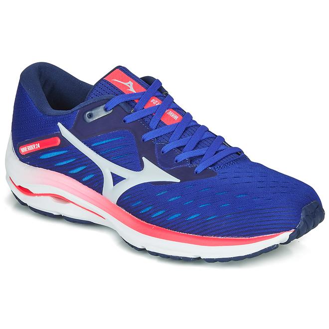 Mizuno  WAVE RIDER 24  men's Running Trainers in Blue