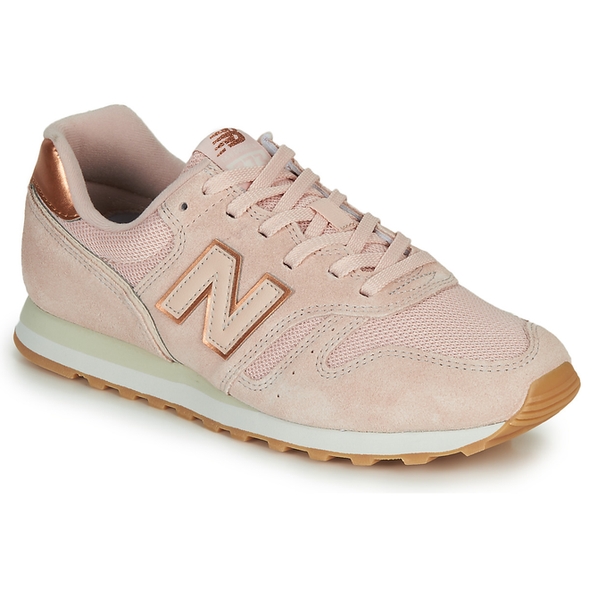 New Balance  373  women's Shoes (Trainers) in Pink