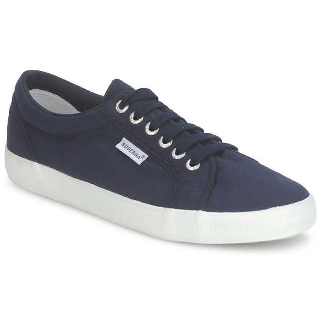 Superga  2750 COTU CLASSIC  women's Shoes (Trainers) in Blue