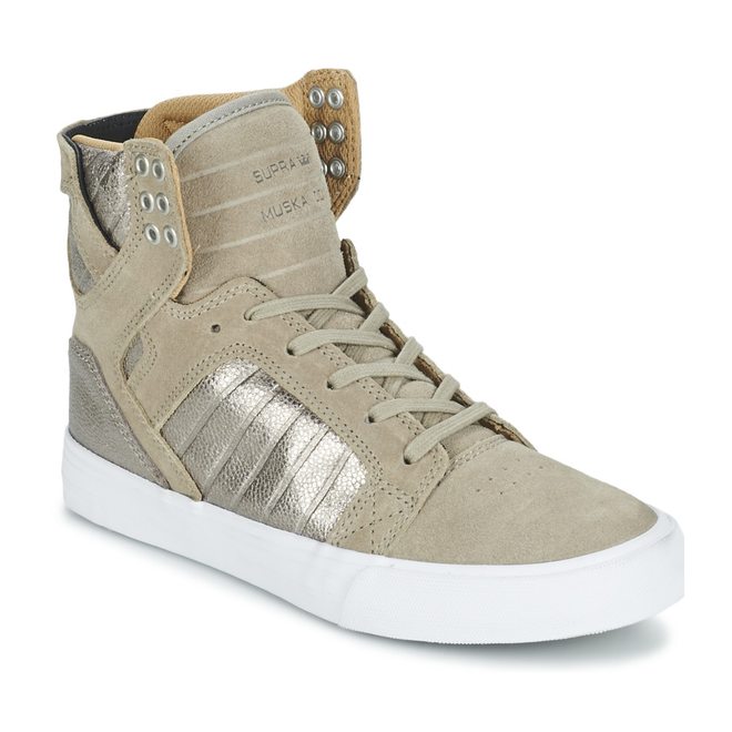 Supra  WOMENS SKYTOP  women's Shoes (High-top Trainers) in Beige