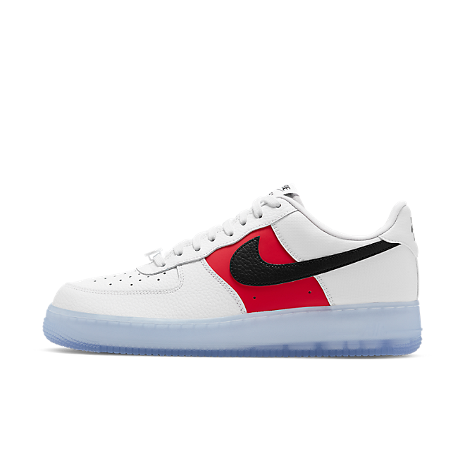 Nike Air Force 1 Low White Red Black (Icy Soles)