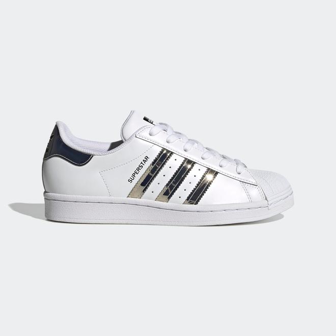 adidas Superstar Cloud White Silver Metallic (W)